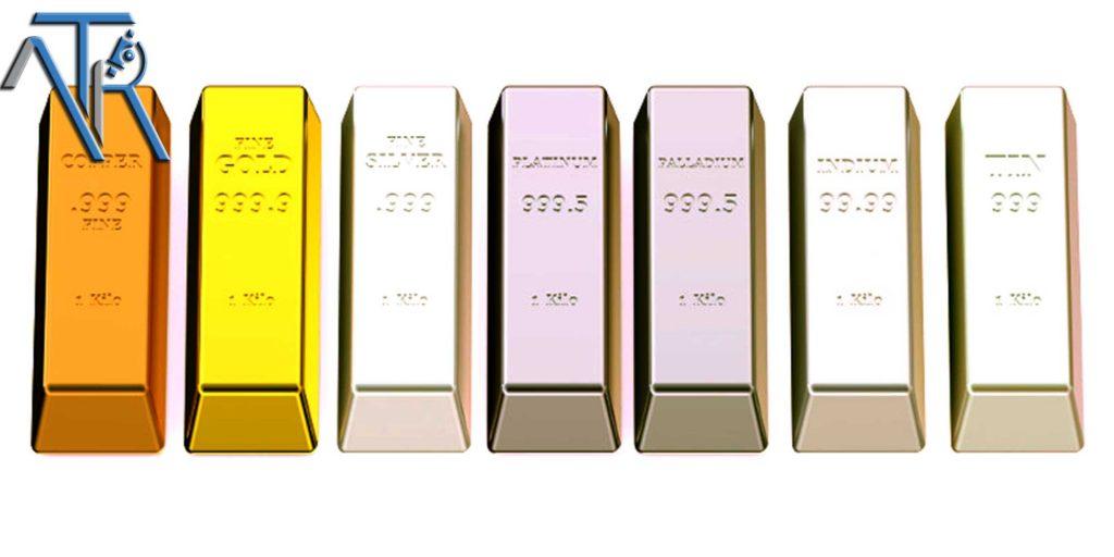 Compounds of high purity precious metals