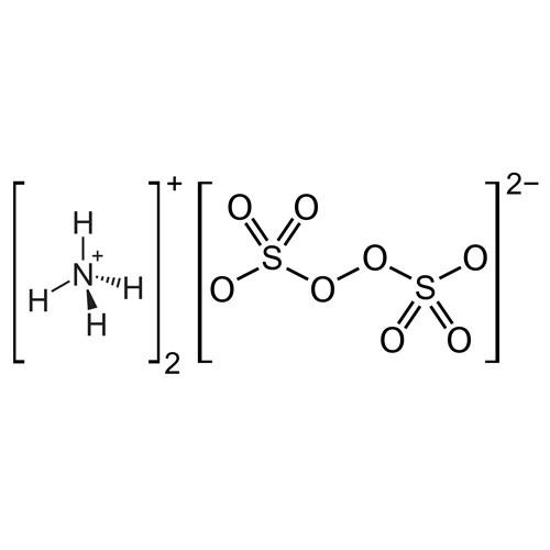 ساختار آمونیوم پرسولفات