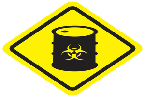 Safety signs and warning signs of the chemical laboratory